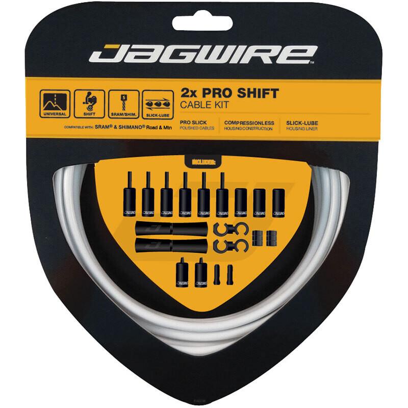 Jagwire 2x Pro Shift Kit - Stealth Black
