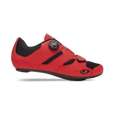GIRO SAVIX II Cycling Shoe- Bright Red