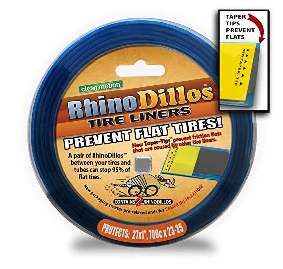 "Rhinodillos 700X 23-25, 27x1"" Tire Liner (ORANGE)"