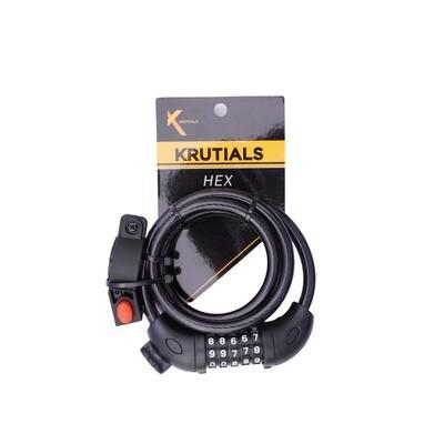 Krutials Hex - 5 Digit Combination Lock