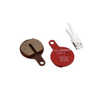 Tektro L10.11 Disc Pad, High-performance metal ceramic compound