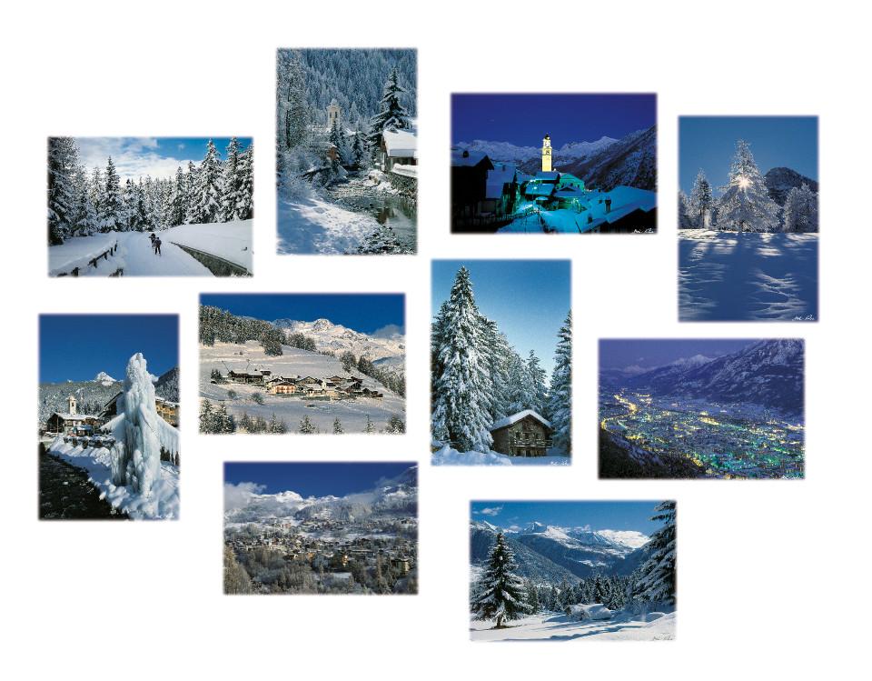 inverno in Valle d'Aosta - Cofanettto 03