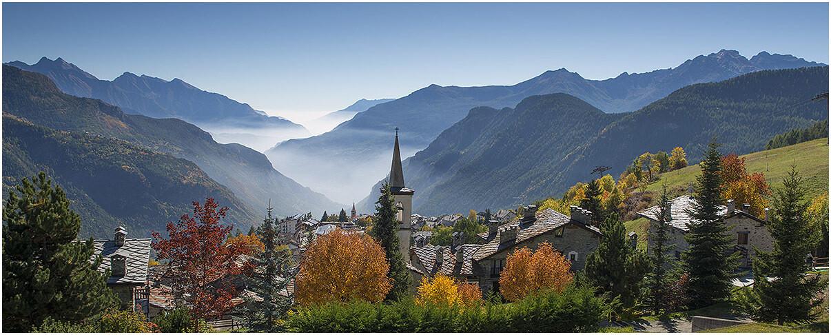i colori dell'autunno a Torgnon