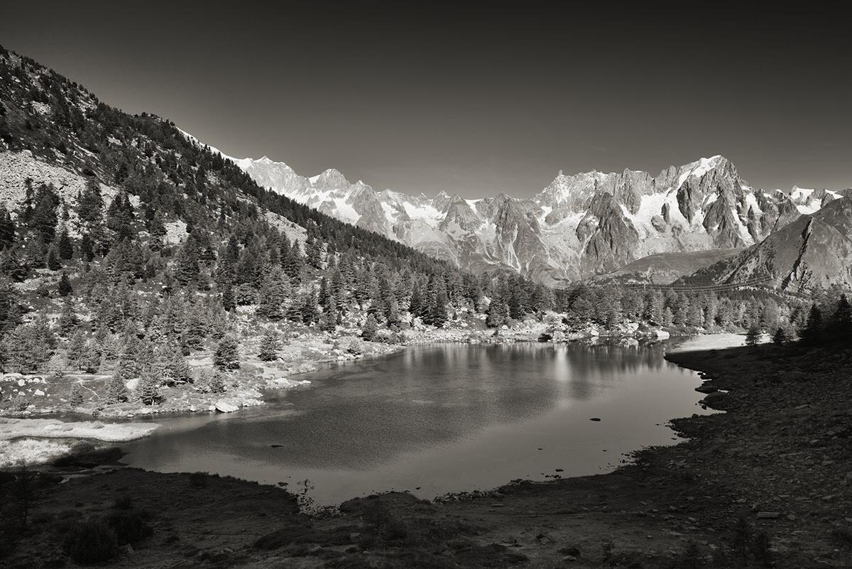 Lago d' Arpy - Morgex - La-Thuile - Monte Bianco - Dente del Gigante