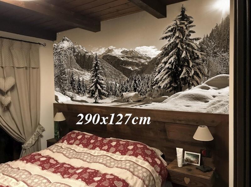 carta parati fotografica murale - Bois de Joux
