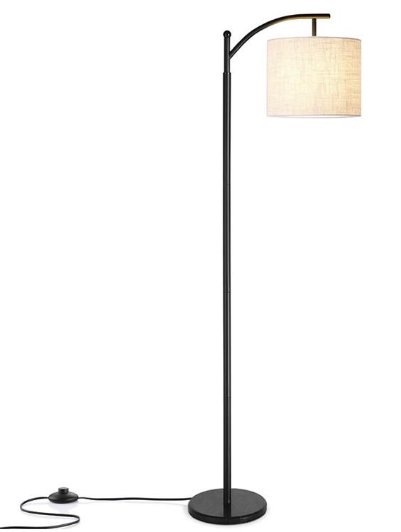 Base per lampada da terra, nero / h 150cm / E27