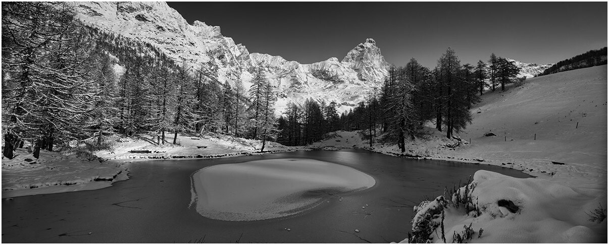 Lago Blu Inverno