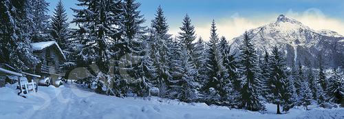 Bois de Joux - Brusson - Ayas - casetta neve