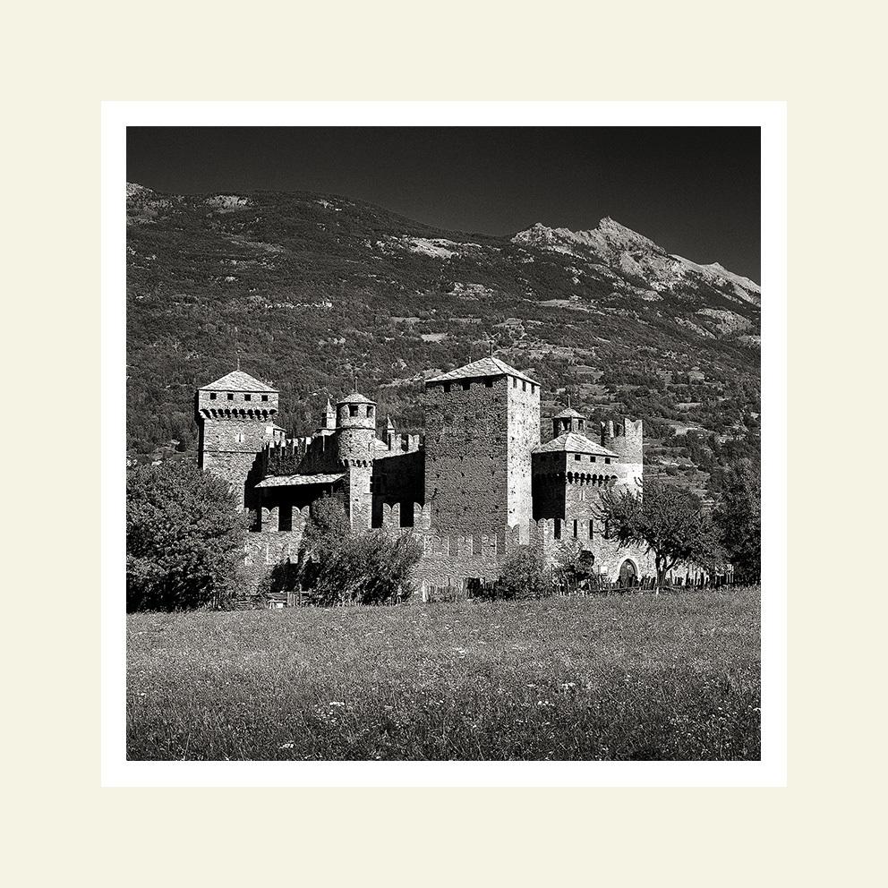 Castello di Fenis - lato sud-ovest