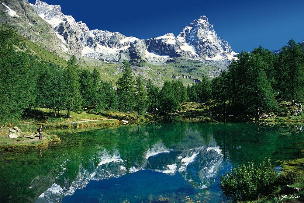 Lago Blu - Cervinia