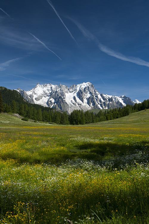 Monte Bianco - Grandes Jorasses - La Thuile - Petosan - Valle d'Aosta
