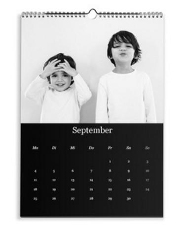Calendario Classico nero