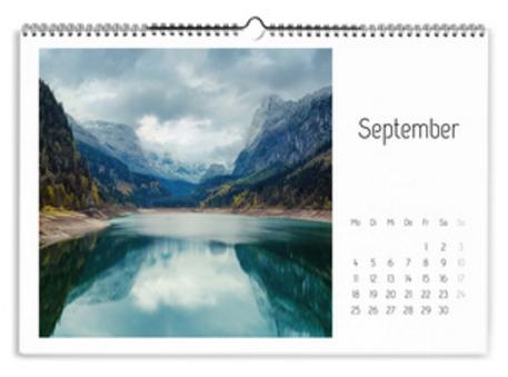 Calendario Creativo bianco