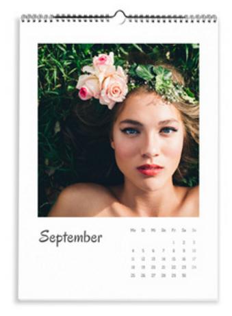 Calendario Elegante bianco