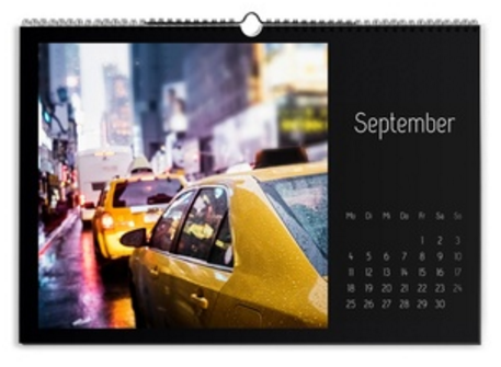 Calendario Creativo nero