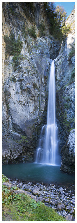 Cascata di Isollaz - Challand-Saint-Victor - Val d'Ayas