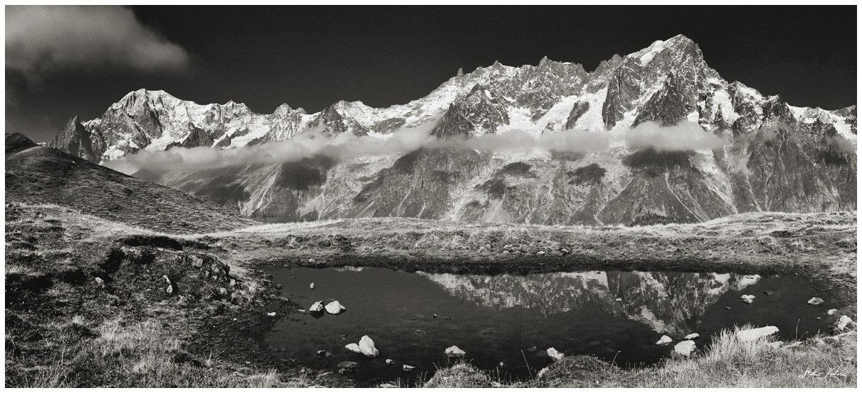 Monte Bianco - Mont de la Saxe