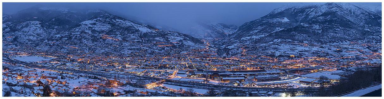 Aosta notturna