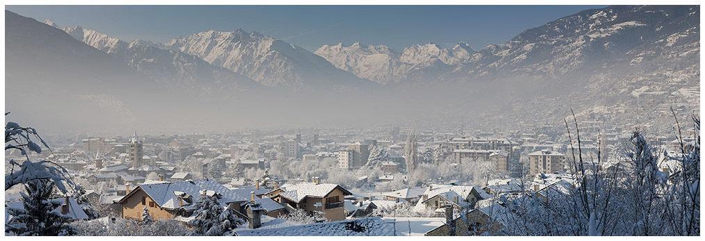 città di Aosta, perla delle Alpi - Neve, Rutor