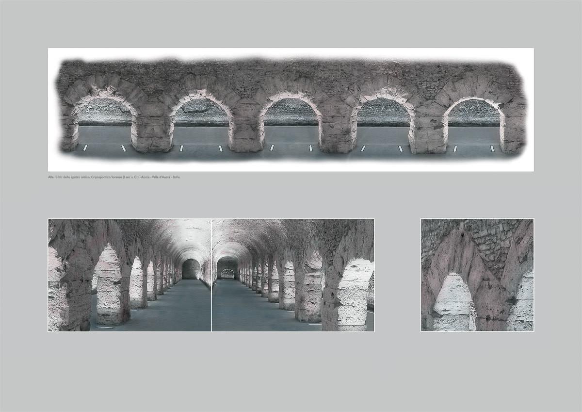 Alle radici dello spirito antico, Criptoportico forense (I sec a. C.) - Aosta - Valle d'Aosta