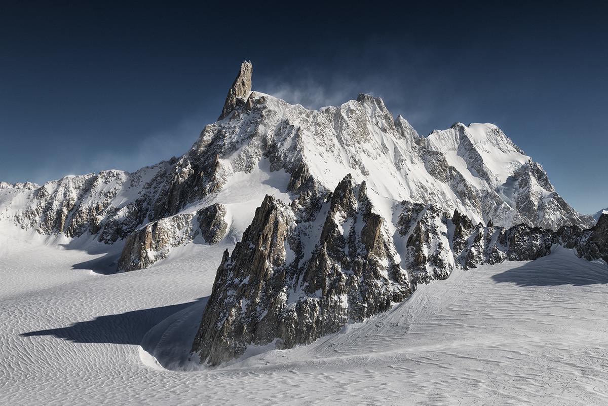 Dente del Gigante - Monte Bianco - Courmayeur - Black&Blue
