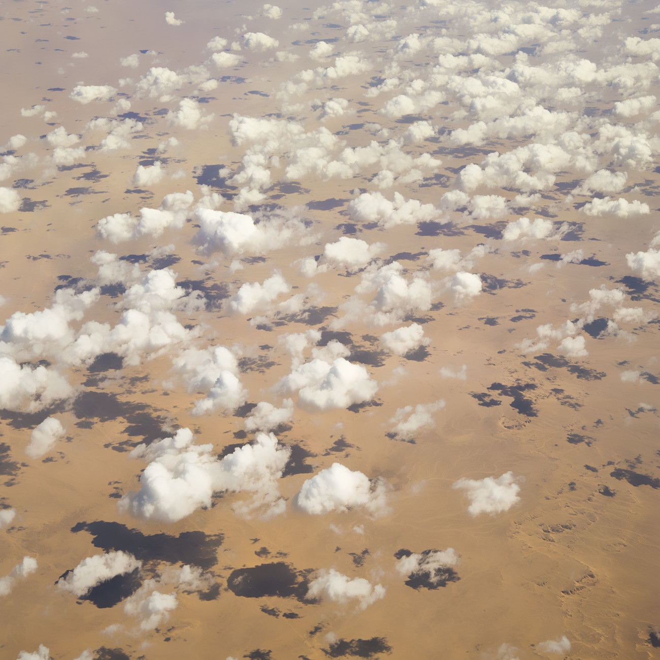 Clouds on the Sahara