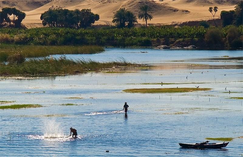 Fischermen on the Nile - Egypt