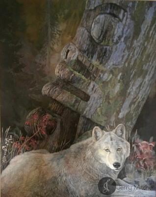 White Wolf & Spirit Guardians
