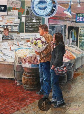 Love at Fish Market