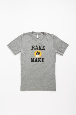 Rake and Make Logo Tee- Men's