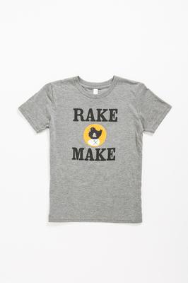 Rake and Make Logo Tee- Children's