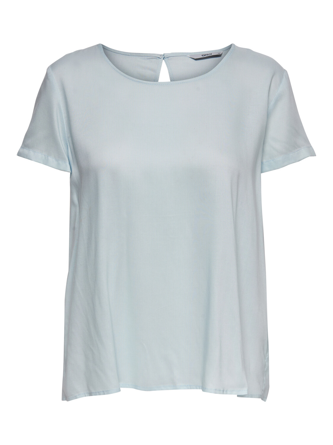 ONLFIRST ONE LIFE SS SOLID TOP WVN CASHMERE BLUE