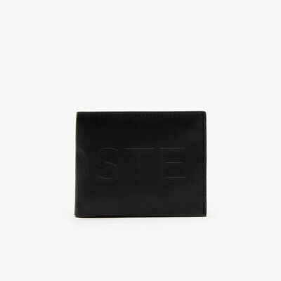 Lacoste Men's L.12.12 Signature Small Leather Wallet