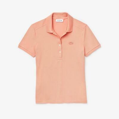 Lacoste Women's Stretch Cotton Piqué Polo Shirt