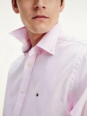 TOMMY NATURAL SOFT END ON END SHIRT Light Pink