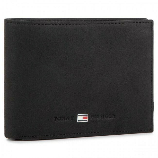 TOMMY TH METRO CC FLAP AND COIN BLACK