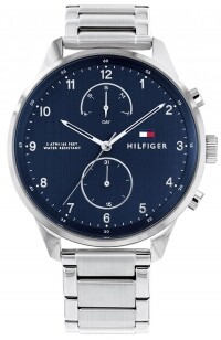 TH CHASE MULTIFUNCTION STAINLES STEEL WATCH