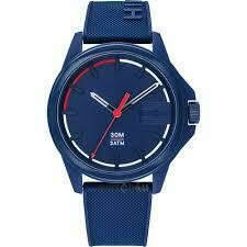 TH SNEAKER BLUE SILICON ANALOG WATCH