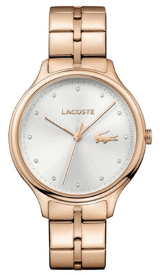 LACOSTE CONSTANCE ROSE GOLD WATCH