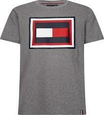 TOMMY HILFIGER MEN'S FRAME RELAXED FIT TEE