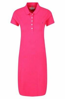 TOMMY HILFIGER WOMEN'S NEW SLIM POLO DRESS