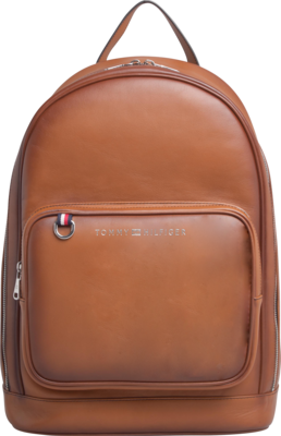 TOMMY HILFIGER CASUAL LEATHER BACKPACK