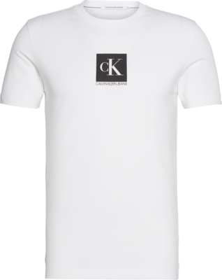 ​CALVIN KLEIN CENTER MONOGRAM BOX SLIM T-SHIRT