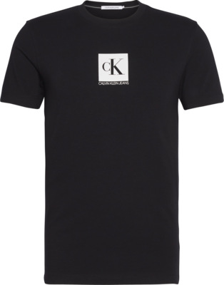 CALVIN KLEIN CENTER MONOGRAM BOX SLIM T-SHIRT