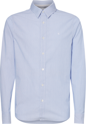 CALVIN KLEIN SLIM COTTON DOBBY SHIRT