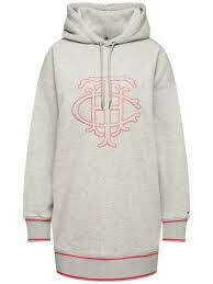 TOMMY HILFIGER PERRY HOODED DRESS