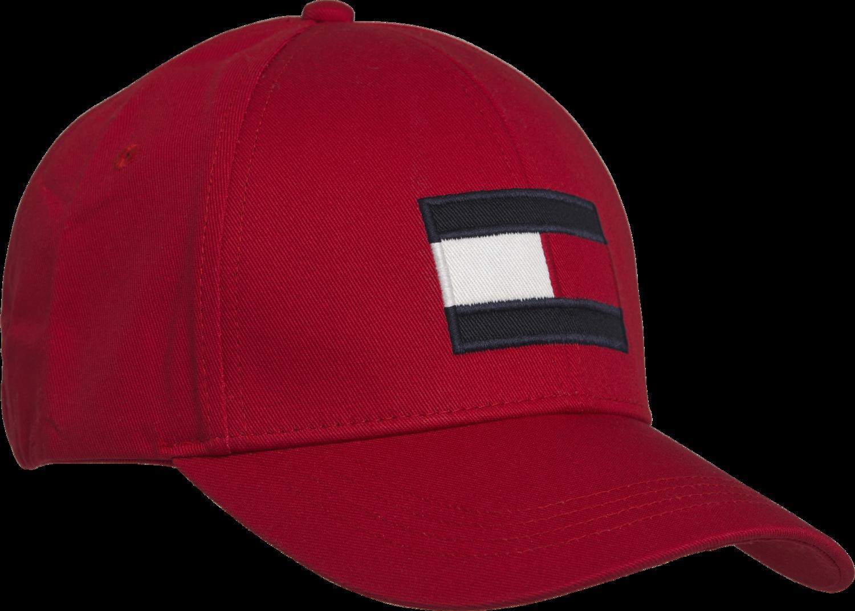 TOMMY BIG FLAG CAP Haute Red