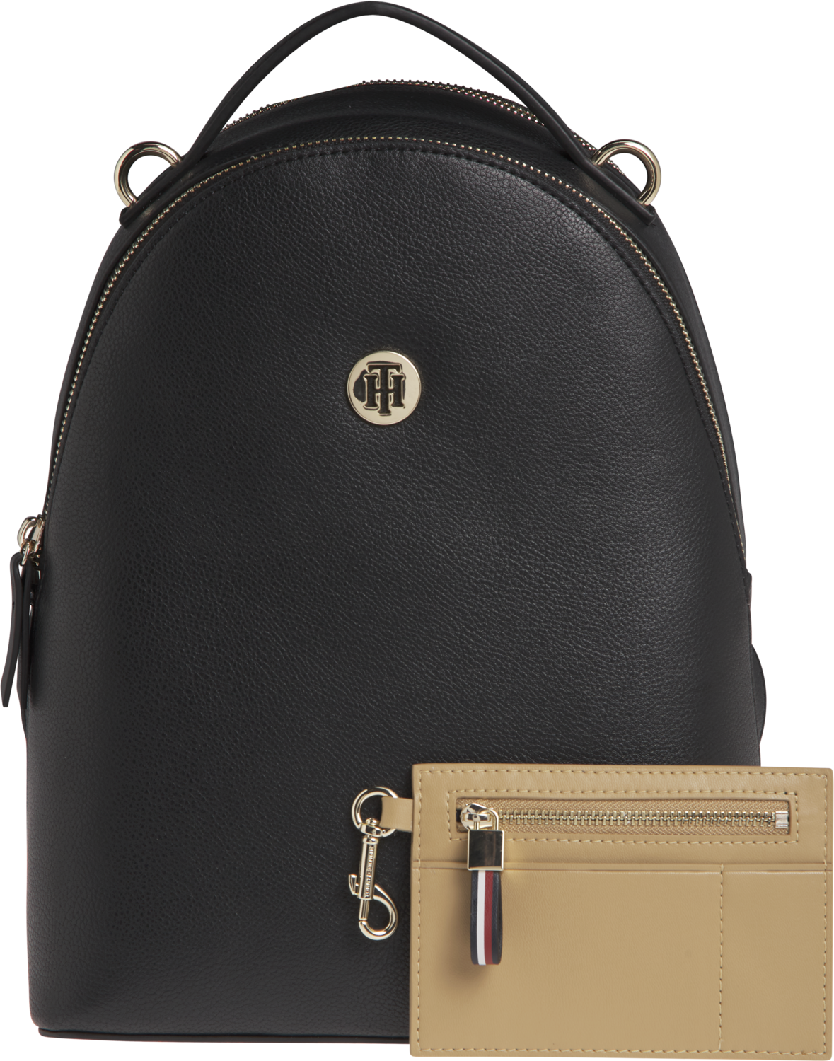TOMMY CHARMING TOMMY BACKPACK Black