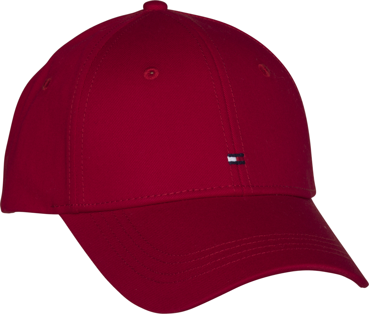 TOMMY CLASSIC BB CAP HAUTE RED