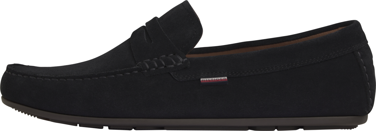 TOMMY CLASSIC SUEDE PENNY LOAFER Desert Sky
